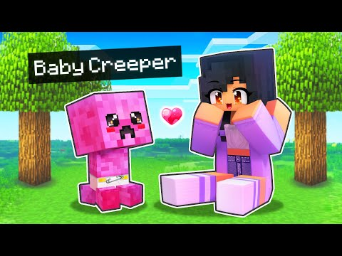 We ADOPTED Baby Creatures In Minecraft!