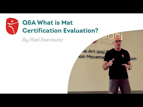 What is the process for the Mat Certification Evaluation? - YouTube
