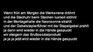 Geier Sturzflug - Bruttosozialprodukt