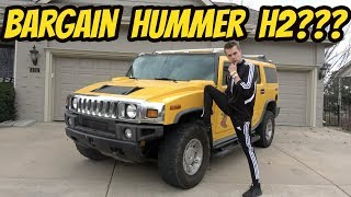 I Bought the Most Embarrassing Vehicle Ever Made (Cheapest Hummer H2)