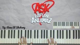 Aşk Laftan Anlamaz Dizi Müziği- Duygusal Müziği -Piano