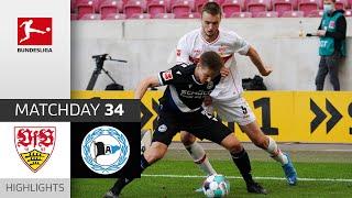 Stuttgart 0-2 Bielefeld Pekan 34