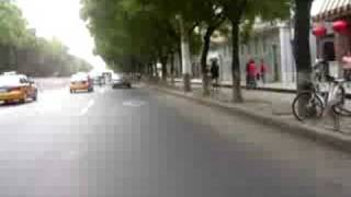 preview picture of video 'Driving through Beijing in a motorcycle'