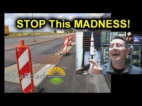 EEVblog #1234 - MORE Epic Solar Roadways FAIL!