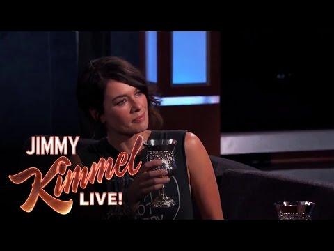 Lena Headey u Jimmyho Kimmela