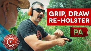 Moving to the Firing Line: GRIP, DRAW and RE-HOLSTERING | Denver, PA #2