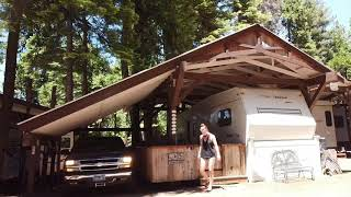Revelc FPV Magic Mini flight video in Stanislaus National Forest