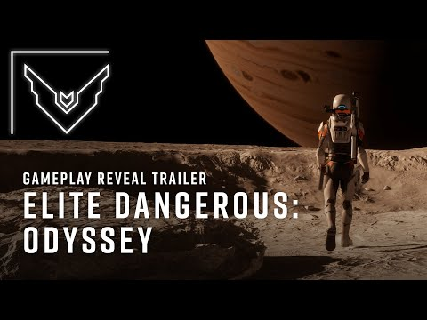 Elite Dangerous Odyssey Expansion Revealed In Gameplay Trailer