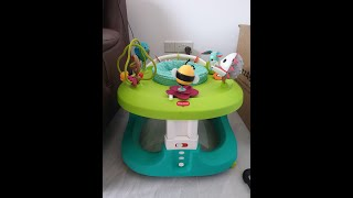 Setup Tiny Love Mobile Activity Center from scratch - What to do at home with your infant or toddler