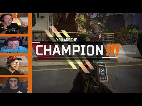 Gamers React To Their First Win On Apex Legends!!!