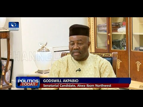 Results From My Senatorial District Were Mutilated By Hand, Akpabio Insists |Politics Today|
