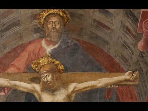 Mintha lyukas lenne az a fal. Masaccio Szentháromsága