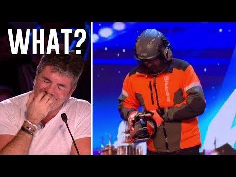Danger Act Goes From EPIC Fail To Epic SCARY! | Britain's Got Talent 2018 (видео)