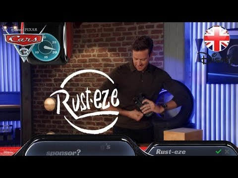 CARS 3 | Armie Hammer Answers Disney Pixar Cars 3 Questions... | Official Disney UK