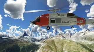 MSFS 2020 - Sikorsky SH 60 - NATIVE H 60 Project v1_1 - LIQD - Italy - Switzerland