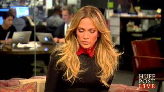Jennifer and Lynda Lopez interview with Arianna Huffington