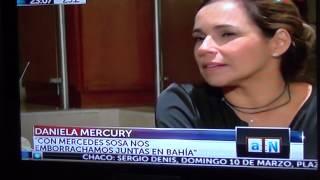 Daniela Mercury en Agenda Nacional 08/03 Parte I