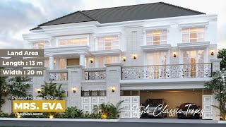 Video Desain Rumah Classic 3 Lantai Mrs. E di  Tangerang, Banten