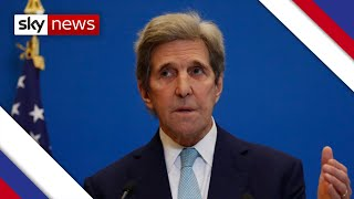 John Kerry: Climate situation is 'extremely urgent'