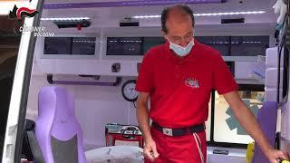Mario Cerciello Rega: un'ambulanza per ricordare il carabiniere