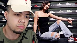Bella Hadid Goes Sneaker Shopping With Complex REACTION!