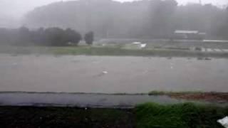 台風15号、浜松上陸!