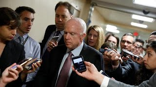 McCain defies Trump on healthcare reform again