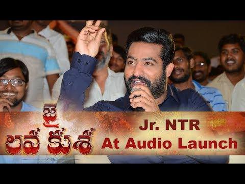 Jr. NTR Speech At Jai Lava Kusa Audio Launch