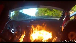 Смотреть онлайн Самые крутые аварии на ралли-гонках