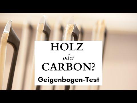 Geigenbogen Test: Carbon oder Holz. Ein Klangvergleich im Hause ARCUS