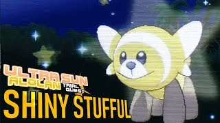 Stufful  - (Pokémon) - 483 - LIVE! Shiny Stufful after 1211 REs!!!!! (USTQ #6)