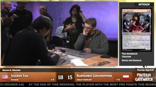 Pro Tour Oath of the Gatewatch Round 8 (Modern): Jiachen Tao vs. Bartlomiej Lewandowski