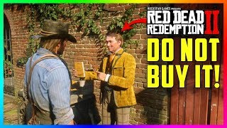 Arthur Gets....Uh Oh.....DO NOT Buy From This Salesman In Red Dead Redemption 2 Or Else! (RDR2)