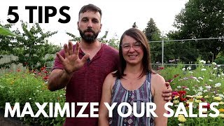 Increase YOUR Farmers Market Sales With These 5 TIPS
