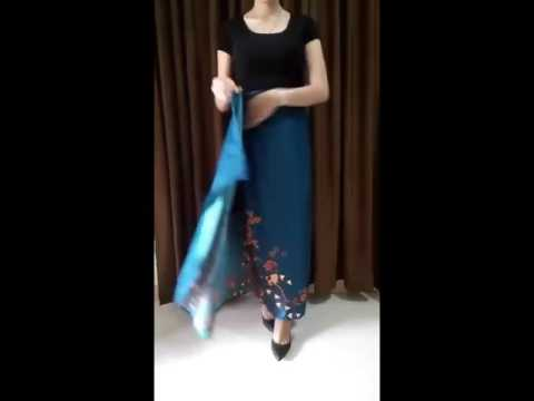 Video How to wear kain batik lilit ala @errastuff.id