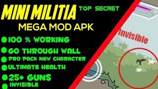 Mini Militia Super Mega Mod Apk
