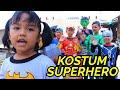 Download Video Parodi Lucu!!!Little Princess Rara & SUPERHERO beraksi [] Baju Baru Superhero part 2[] Mainan Anak