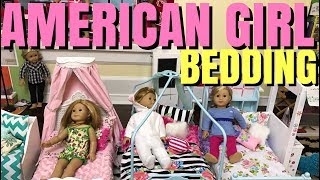 HUGE American Girl Doll Bedding Haul