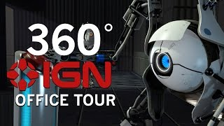 Tour the IGN Office Like Never Before - 360 Degree Video
