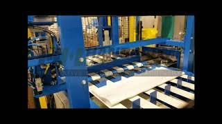 Snijden en lassen van textielfilters