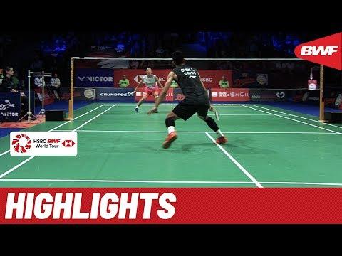 DANISA Denmark Open 2019 | Finals MS Highlights | BWF 2019