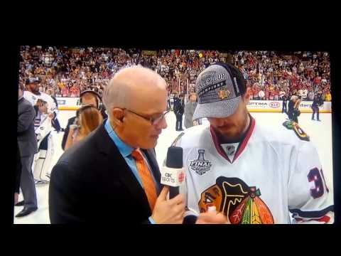 Dave Bolland's interview on CBC