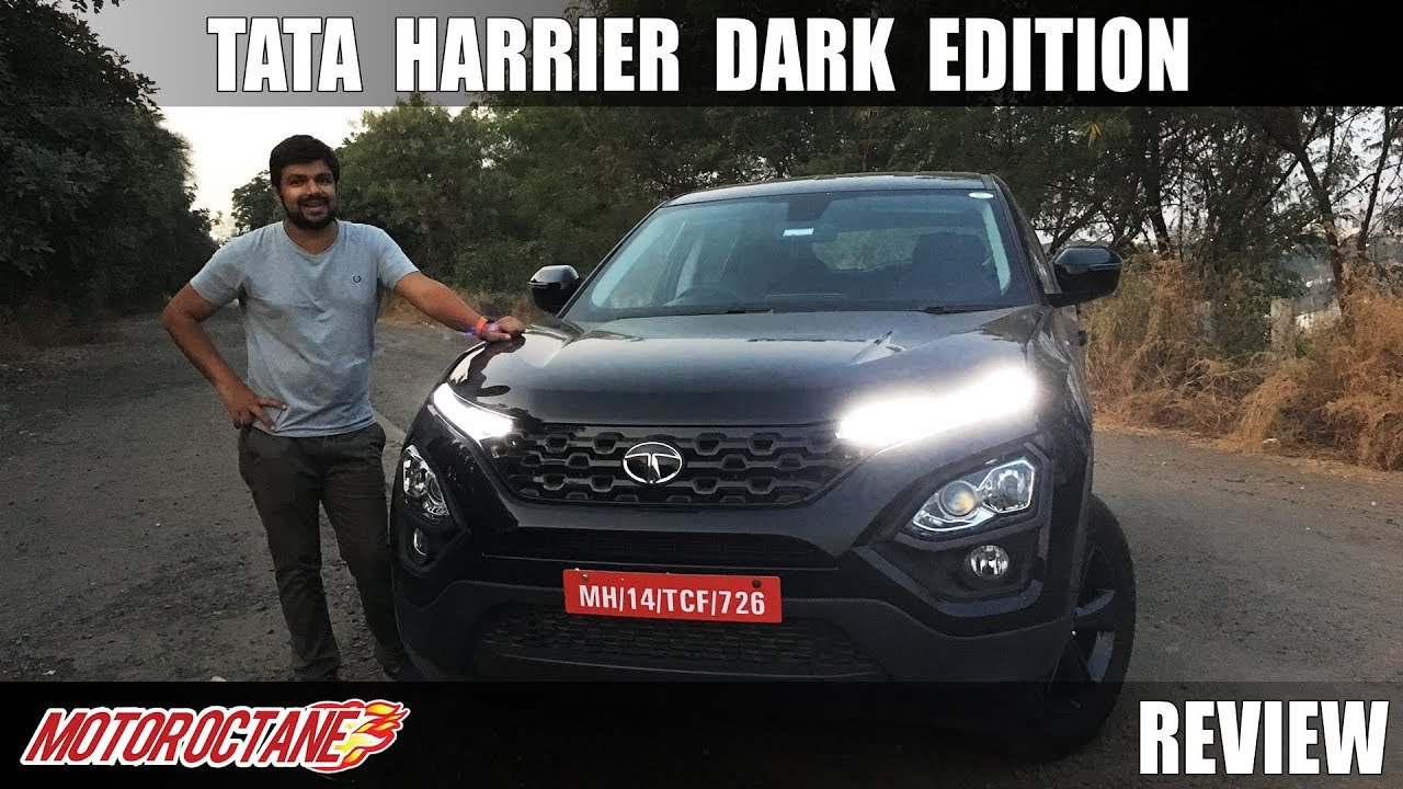 Motoroctane Youtube Video - Tata Harrier Dark Edition Review | Hindi | MotorOctane