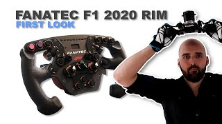 Fanatec ClubSport Steering Wheel F1 2020 - First Look