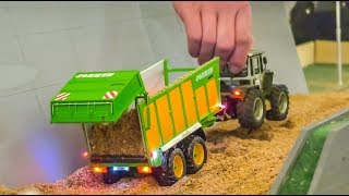Awesome Modified RC Tractors In ACTION! Tractor STUCK!