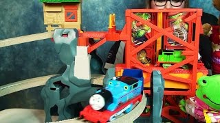 Thomas at the Abandoned Mine Playtime Toy Review with WallyRoo