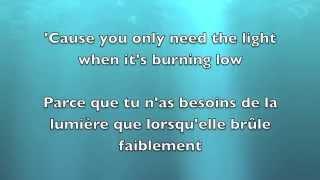 Let Her Go   Passenger Lyrics EnglishFrançais