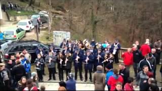 preview picture of video 'Godba Moravče, Sveti Mohor (Bela nedelja 2013)'