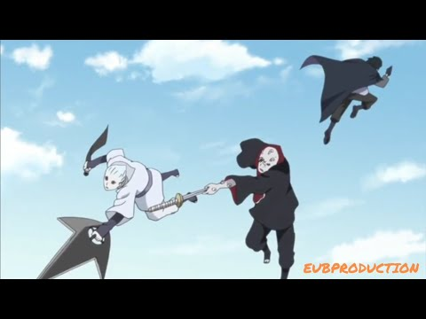 Саске, Наруто и Сакура против Шино Учиха (Ч2)