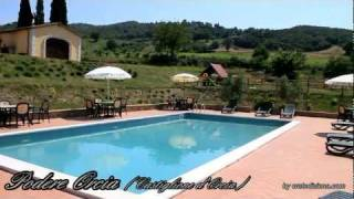 preview picture of video 'Agriturismo Podere Orcia Castiglione d'Orcia Siena Tuscany Italy'